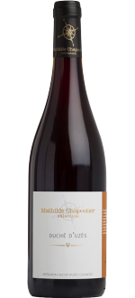 DUCHE D'UZES ROUGE 2017 - MATHILDE CHAPOUTIER SELECTION