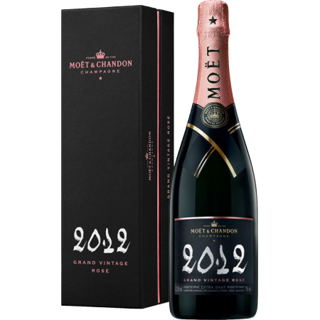 CHAMPAGNE MOET & CHANDON - GRAND VINTAGE ROSE 2012 - IN COFANETTO REGALO