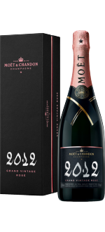 CHAMPAGNE MOET & CHANDON - GRAND VINTAGE ROSE 2012 - EN COFANETTO REGALO
