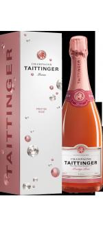 CHAMPAGNE TAITTINGER BRUT PRESTIGE ROSE - ASTUCCIATIO DIAMANT
