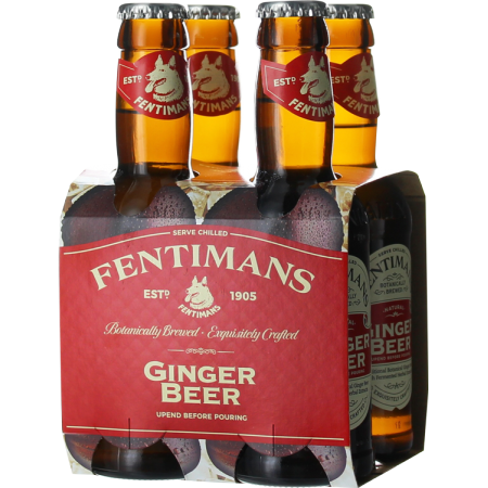 GINGER BEER PACK DE 4*20 CL - FENTIMANS