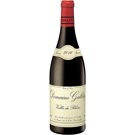 ROUGE 2016 - DOMAINE GALLETY