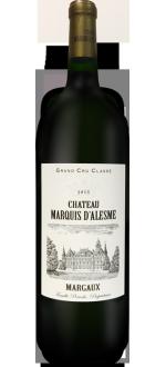 MAGNUM CHATEAU MARQUIS D'ALESME 2015 - 3EME CRU CLASSE