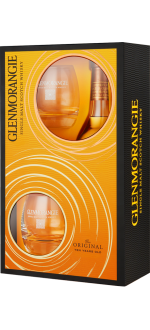GLENMORANGIE THE ORIGINAL 10 ANNI - EN COFANETTO REGALO 2 BICCHIERI