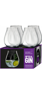 GIN SET OPTICAL - 4 BICCHIERI - REF 5515/67 - RIEDEL