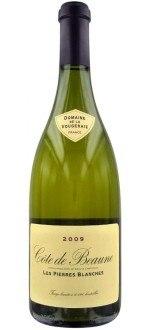 BLANC - LES PIERRES BLANCHES 2012 - DOMAINE DE LA VOUGERAIE (France - Vin Bourgogne - Côte de Beaune AOC - Vin Blanc - 0,75 L)