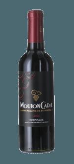 DEMI-BOTTIGLIA MOUTON CADET 2017 - BARON PHILIPPE DE ROTHSCHILD