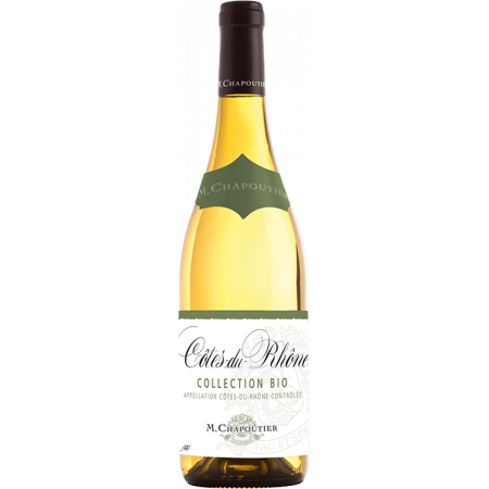 COTES-DU-RHONE BLANC COLLECTION BIO 2019 - M. CHAPOUTIER