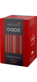 ENOBOX 3L - ROUGE DISTRACTION - ALMA CERSIUS