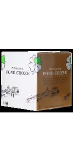 ENOBOX 3L - IGP ROSE 2019 - DOMAINE FOND CROZE