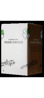 CUBI 5L - CONFIDENCE 2019 - DOMAINE FOND CROZE