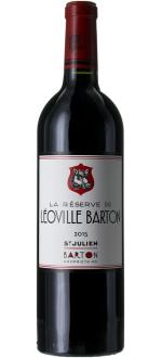LA RESERVE DE LEOVILLE BARTON 2016 - SECONDO VINO DEL CHATEAU LEOVILLE BARTON
