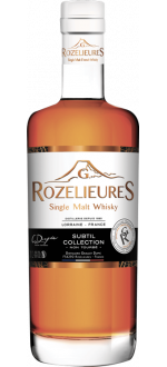 WHISKY FRANCAIS G.ROZELIEURES - SUBTIL COLLECTION - EN ÉTUI