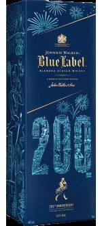 JOHNNIE WALKER BLUE LABEL - ASTUCCIATIO EDITION LIMITÉE 200 EME ANNIVERSAIRE