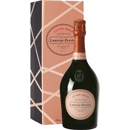 CHAMPAGNE LAURENT PERRIER - CUVEE ROSE IN COFANETTO REGALO LUSSO