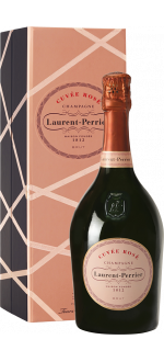 CHAMPAGNE LAURENT-PERRIER - BRUT ROSE - EN COFFRET