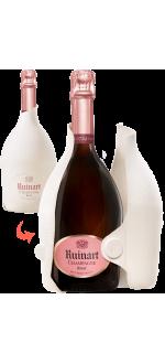 CHAMPAGNE RUINART - BRUT ROSE - ETUI SECONDE PEAU