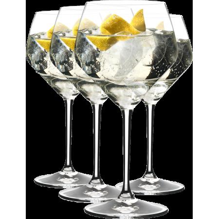 GIN SET TONIC LONG DRINK - 4 BICCHIERI - REF 5441/97 - RIEDEL