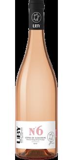 UBY ROSE N°6 2020 - DOMAINE UBY