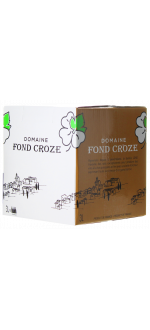 ENOBOX 3L - IGP ROSE 2020 - DOMAINE FOND CROZE