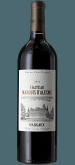 CHATEAU MARQUIS D'ALESME 2018 - 3EME CRU CLASSE