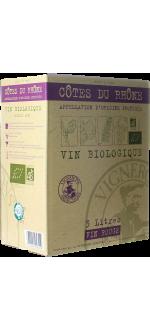 ENOBOX 3L - CÔTES DU RHÔNE BIO - VIGNERONS ARDÉCHOIS
