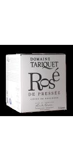 BIB 3L ROSE DE PRESSEE 2020 - DOMAINE TARIQUET