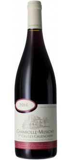 CHAMBOLLE MUSIGNY 1ER CRU - LES GRUENCHERS 2016 - DOMAINE ROBLOT MARCHAND & FILS