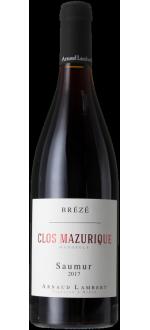 CLOS MAZURIQUE 2020 - CHATEAU DE BREZE - ARNAUD LAMBERT