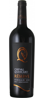 CHEVAL QUANCARD RESERVE ROUGE 2019