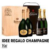 Idee regalo champagne