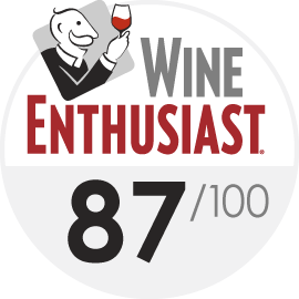 Wine Enthusiast : 87/100