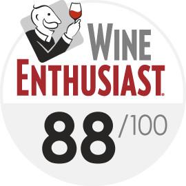 Wine Enthusiast : 88/100