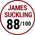 James Suckling : 88/100